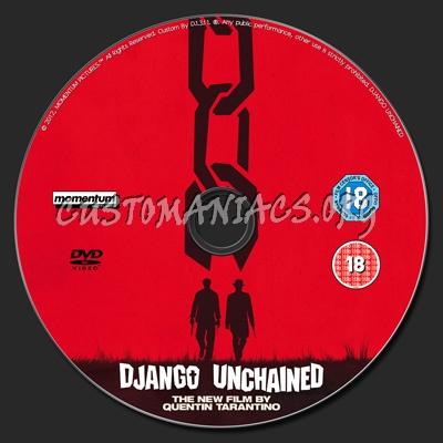 Django Unchained dvd label