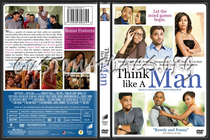 Think Like A Man dvd cover