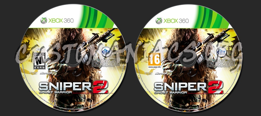 Sniper: Ghost Warrior 2 dvd label