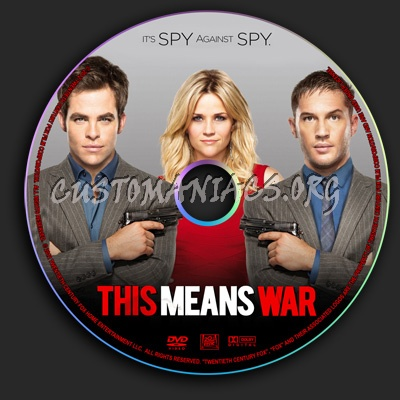 This Means War dvd label