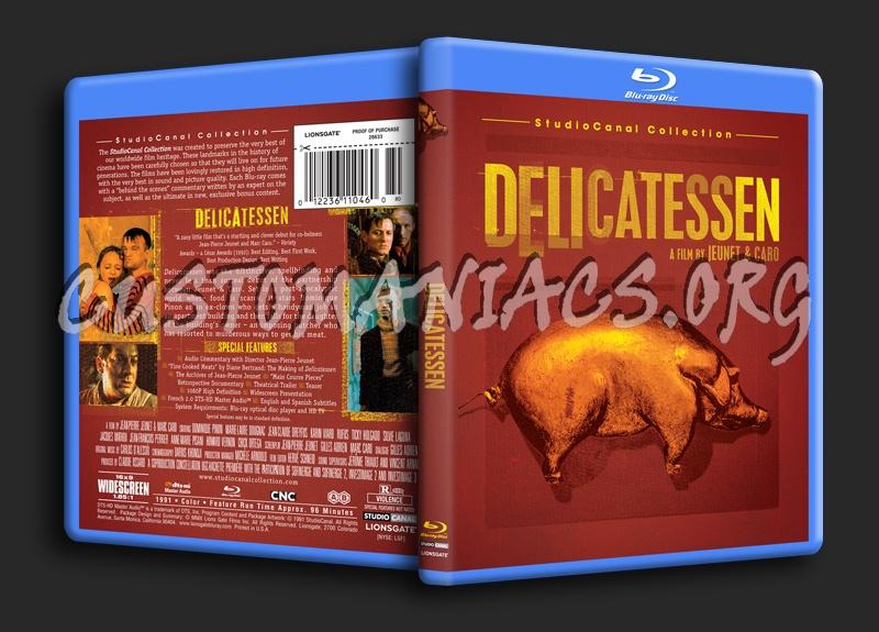 Delicatessen blu-ray cover