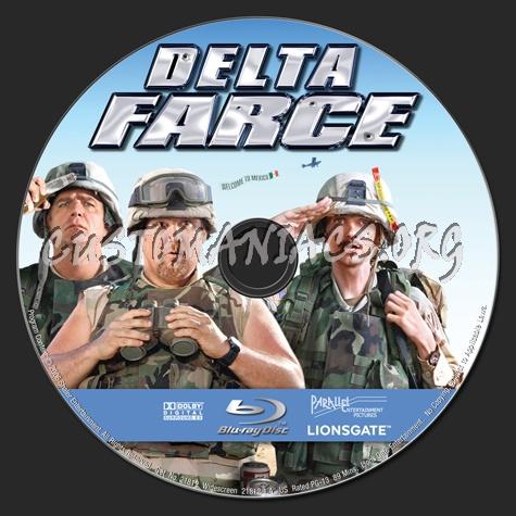 Delta Farce blu-ray label