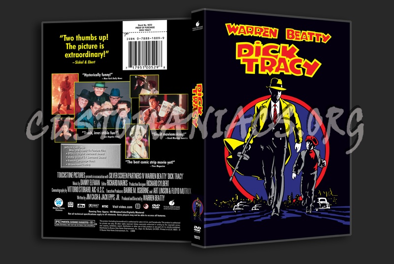 Dick Tracy dvd cover