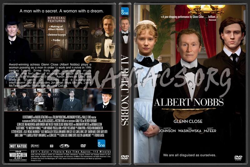 Albert Nobbs dvd cover