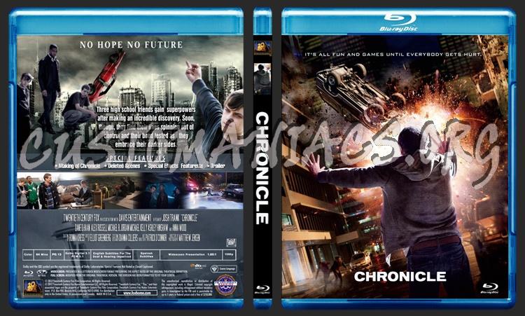 Chronicle blu-ray cover