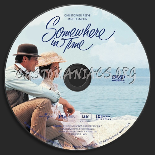 Somewhere In Time Quotes: Somewhere In Time Dvd Label
