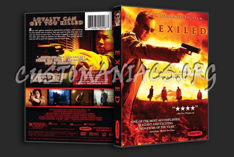Exiled dvd cover