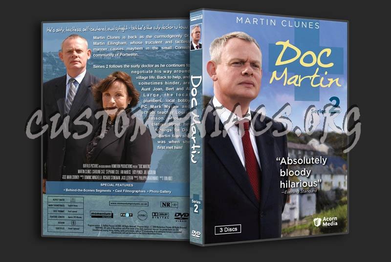 Doc Martin: Series 1-5 dvd cover