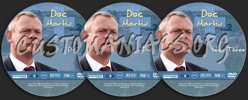 Doc Martin - Season 2 dvd label