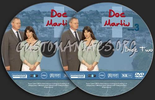 Doc Martin - Season 3 dvd label