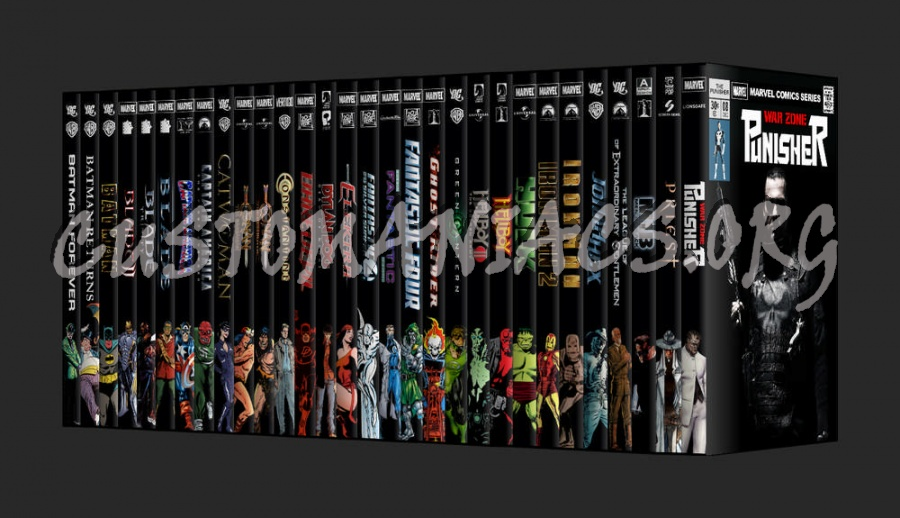 The Comics Collection dvd cover
