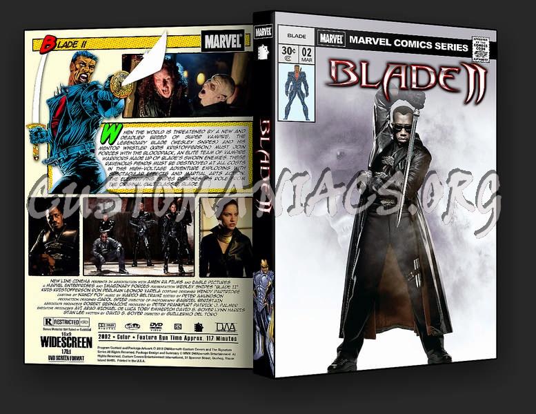 Blade II dvd cover
