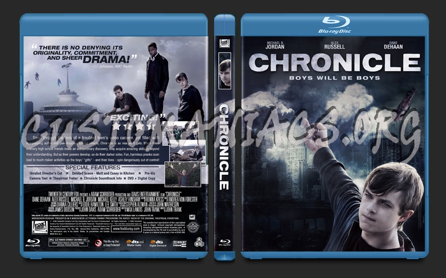 Chronicle blu-ray cover