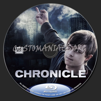Chronicle blu-ray label