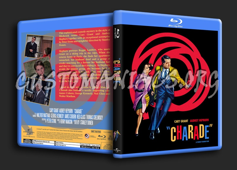 Charade blu-ray cover