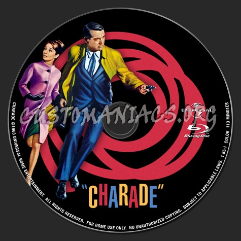 Charade blu-ray label