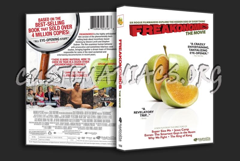 Freakonomics dvd cover