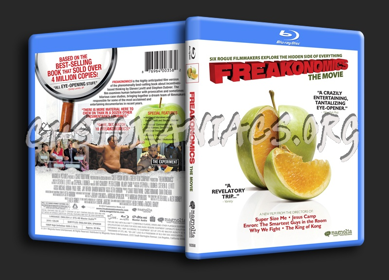 Freakonomics blu-ray cover