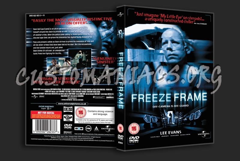 Freeze Frame dvd cover