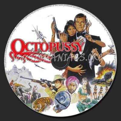 Octopussy dvd label