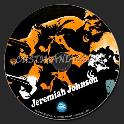 Jeremiah Johnson blu-ray label