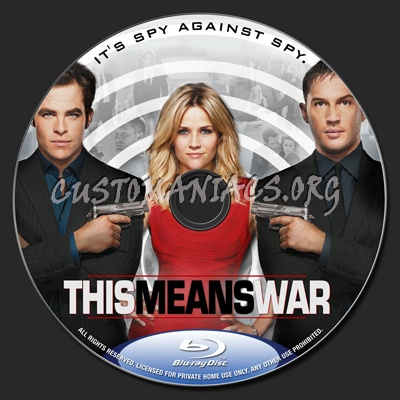 This Means War blu-ray label