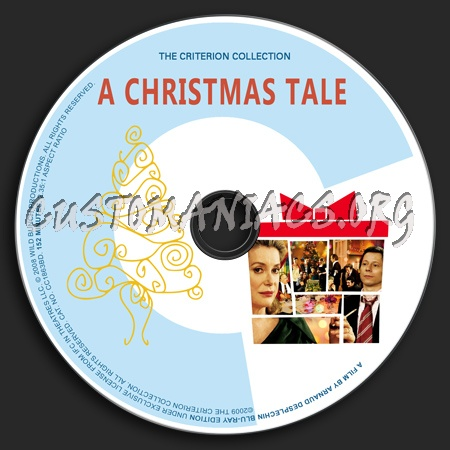 492 - A Christmas Tale dvd label