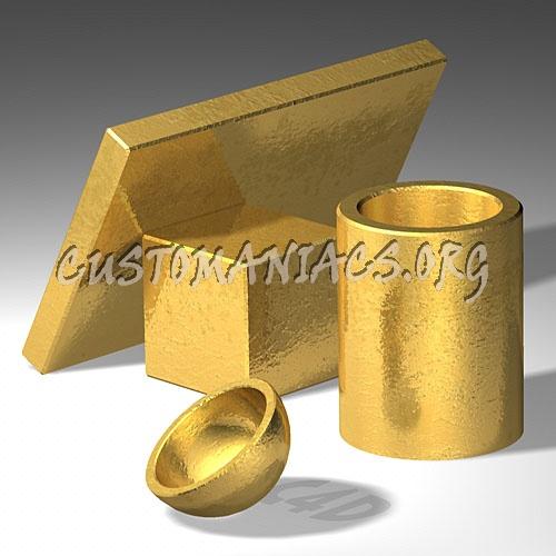 C4D - Gold Texture