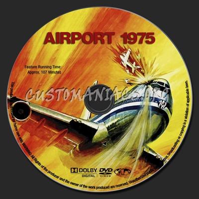 Airport 1975 dvd label