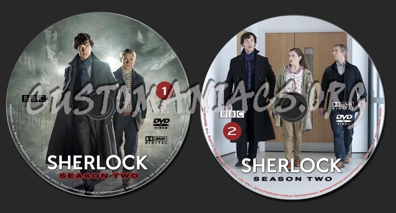 Sherlock - Season 2 dvd label - DVD Covers & Labels by
