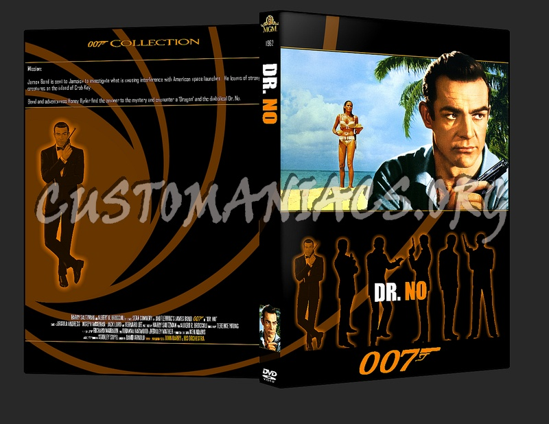 007 James Bond Dr No dvd cover