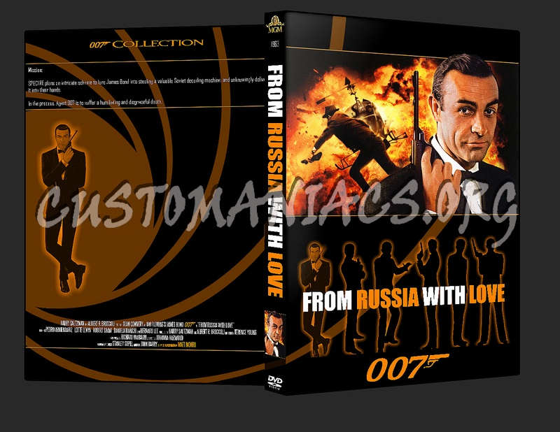 007 James Bond - From Russia with Love dvd cover