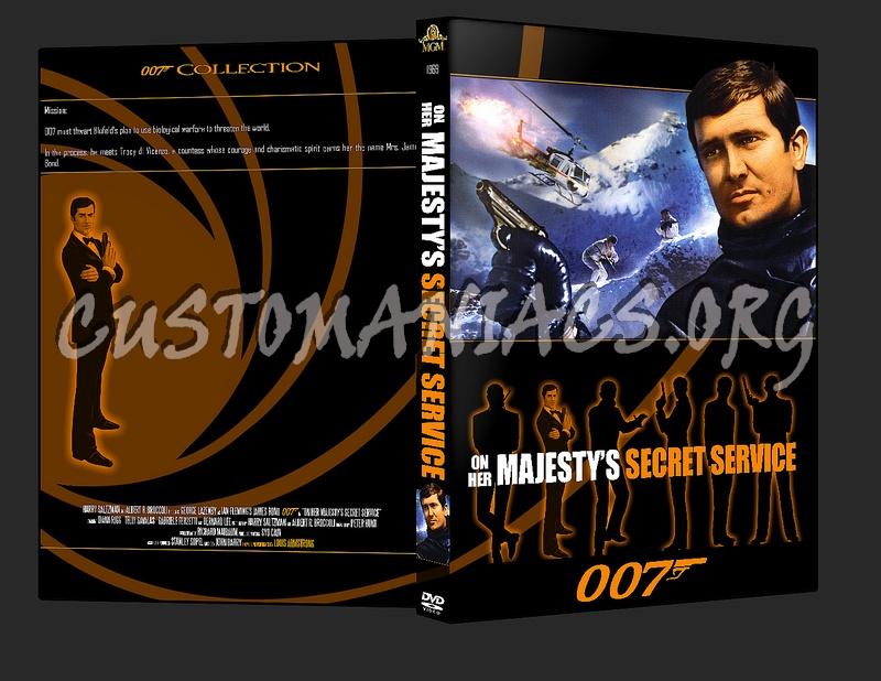 007 James Bond - On Her Majesty's Secret Service dvd cover