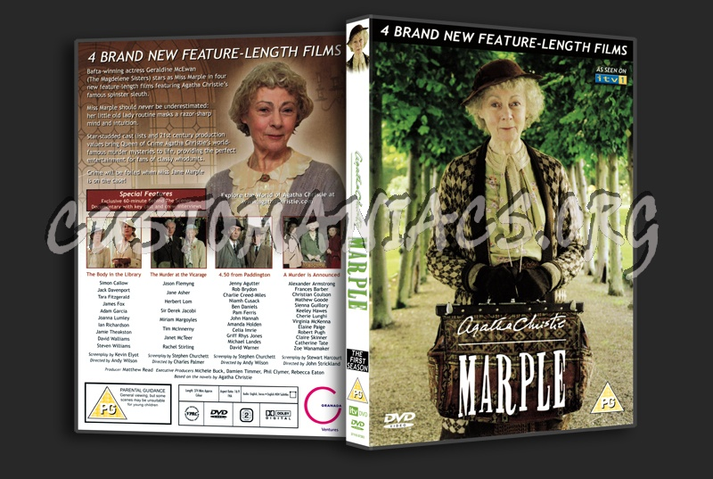 Marple - The Complete First Season dvd cover