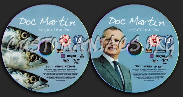Doc Martin Series 1 dvd label