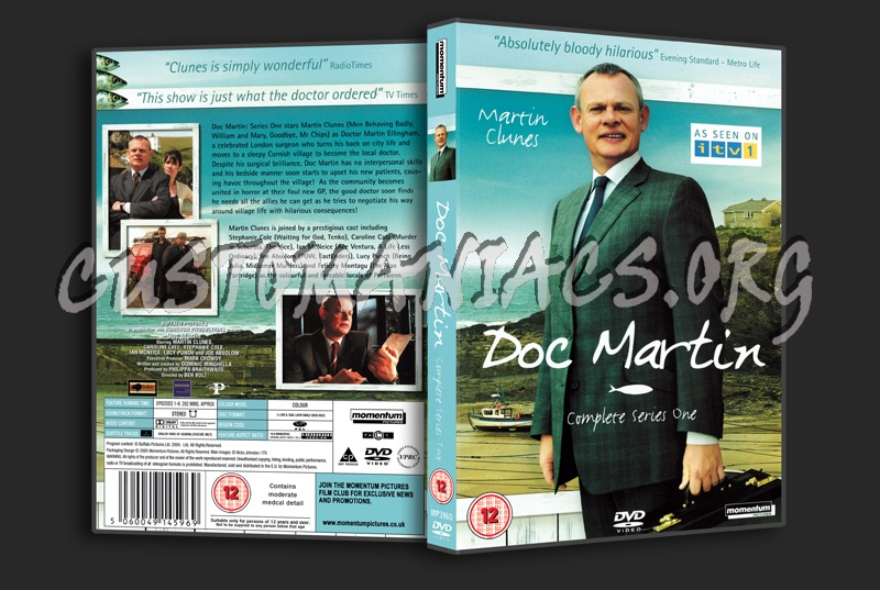 Doc Martin Series 1 dvd cover