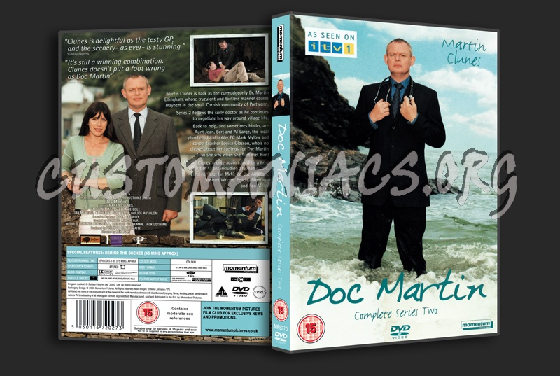 Doc Martin Series 2 dvd cover