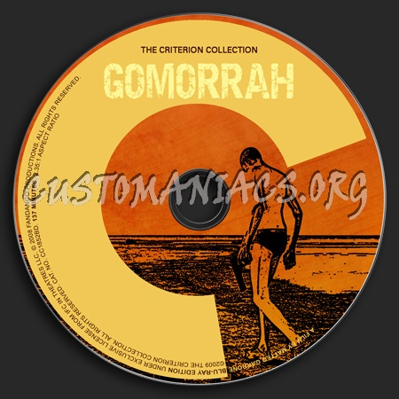 493 - Gomorrah dvd label