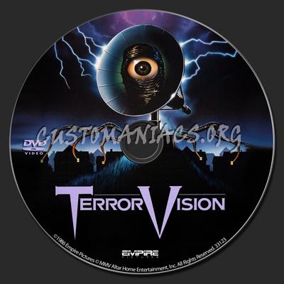 TerrorVision dvd label