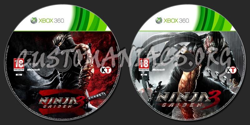 Ninja Gaiden 3 Dvd Label Dvd Covers Labels By Customaniacs Id