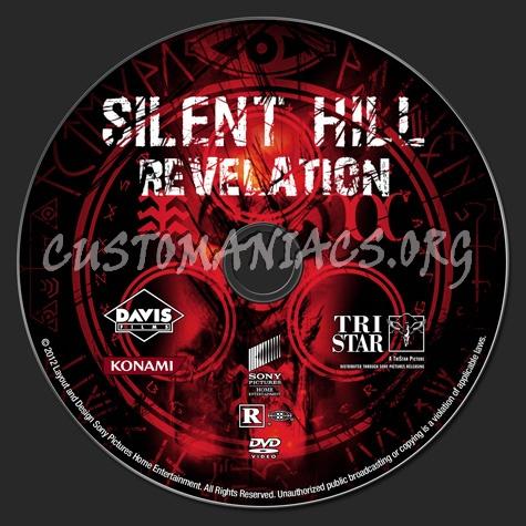 Silent Hill: Revelation dvd label