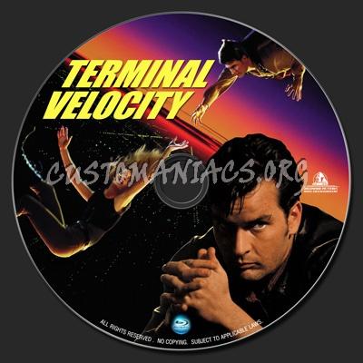 Terminal Velocity blu-ray label
