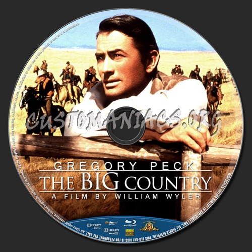 The Big Country blu-ray label - DVD Covers & Labels by ...