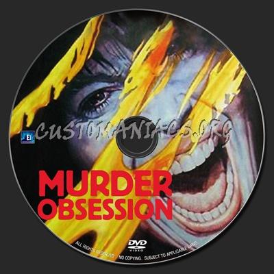 Murder Obsession dvd label