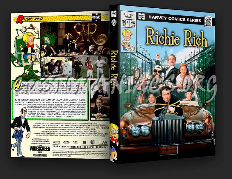 Richie Rich dvd cover