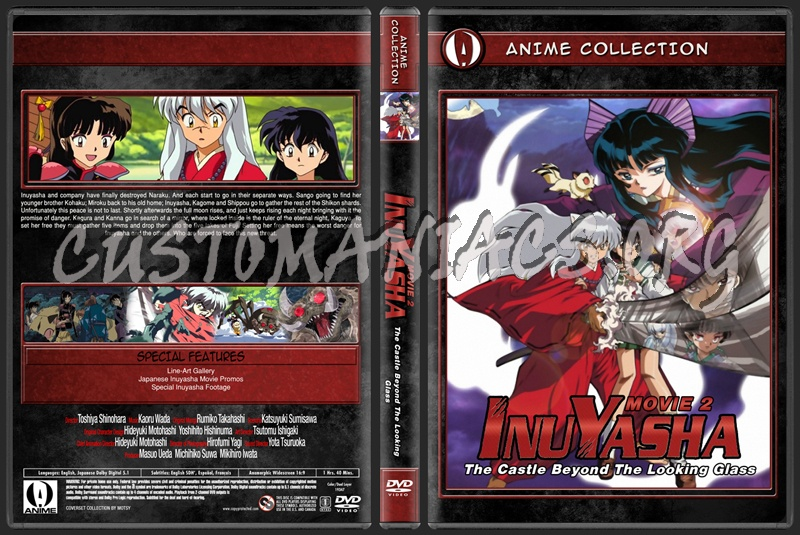Anime Collection Inuyasha Movie 2 The Castle Beyond The Looking Glass dvd cover