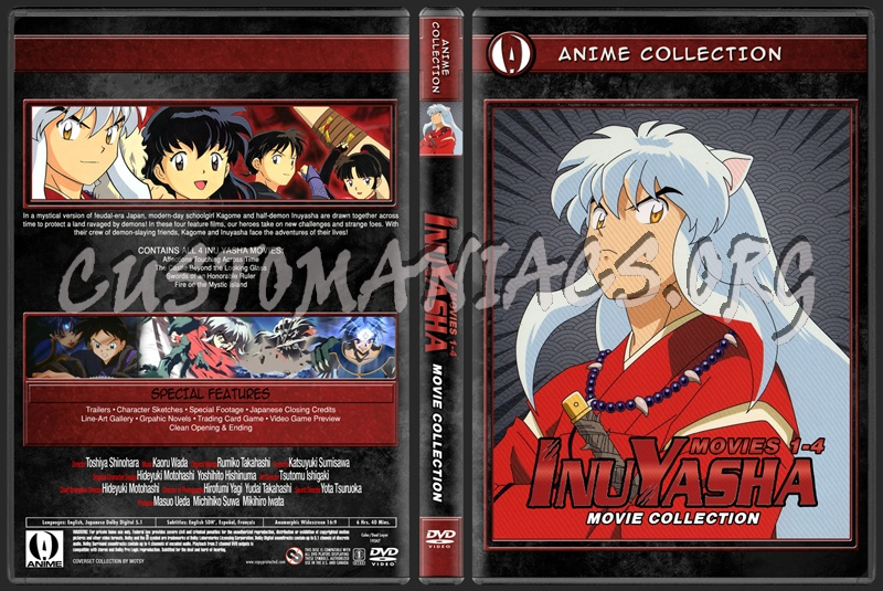 Anime Collection Inuyasha Movie Collection dvd cover