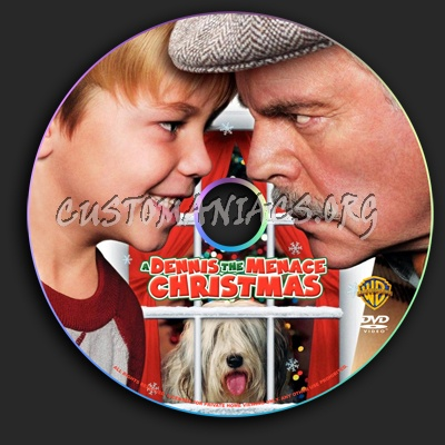 A Dennis The Menace Christmas.A Dennis The Menace Christmas Dvd Label Dvd Covers