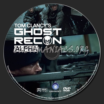 Ghost Recon Alpha Dvd Label Dvd Covers Labels By Customaniacs