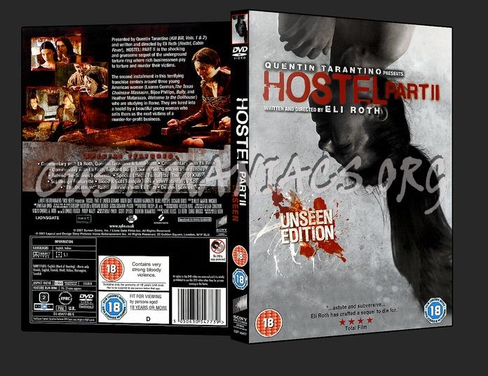 Hostel part II dvd cover